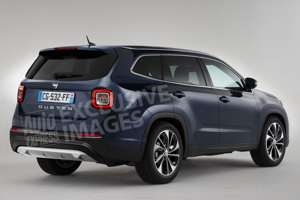dacia duster 2017 render
