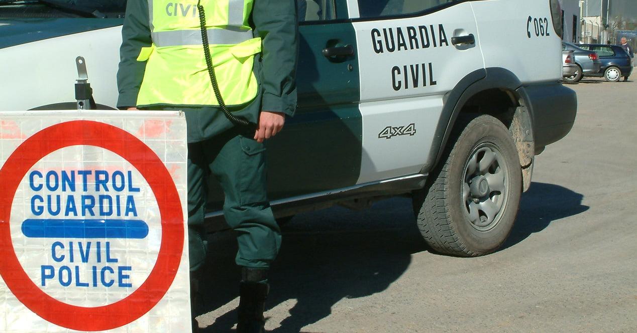 control velocidad guardia civil