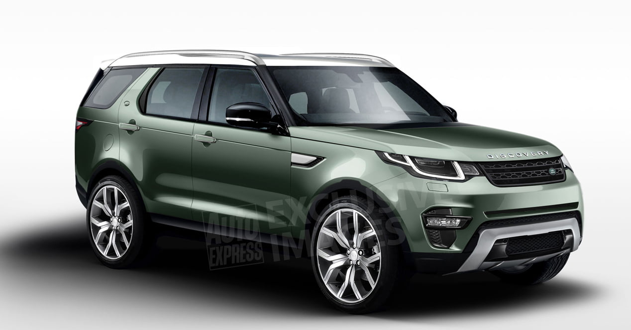 land rover discovery 2017 render