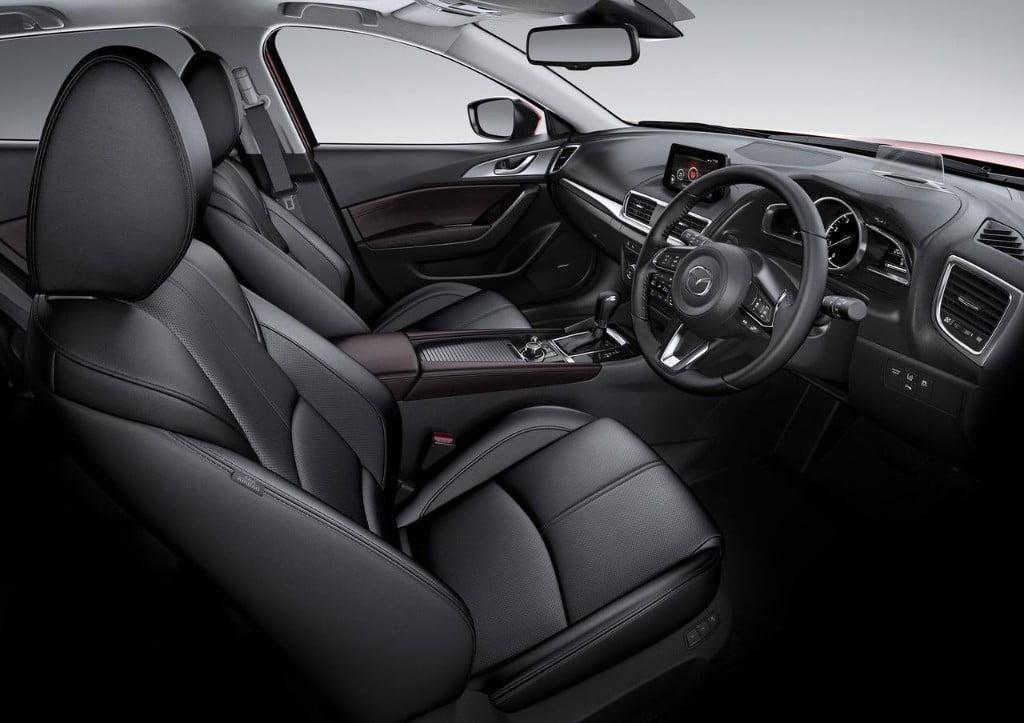 interior mazda3 2017 restyling