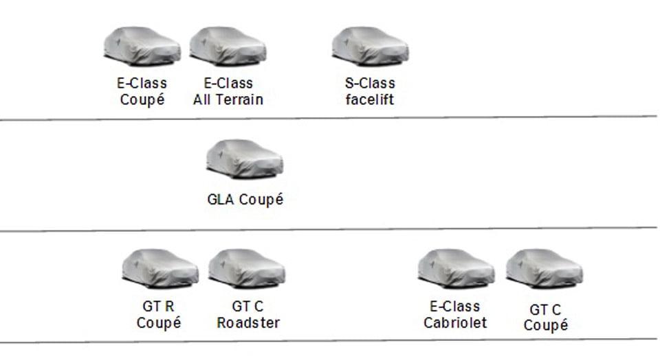 nuevos modelos de mercedes y amg en 2017