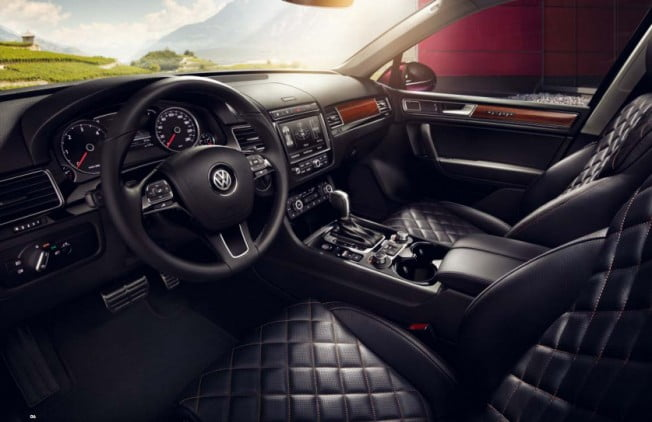 volkswagen touareg executive edition interior