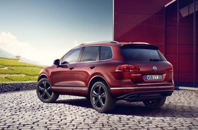volkswagen touareg executive edition trasera