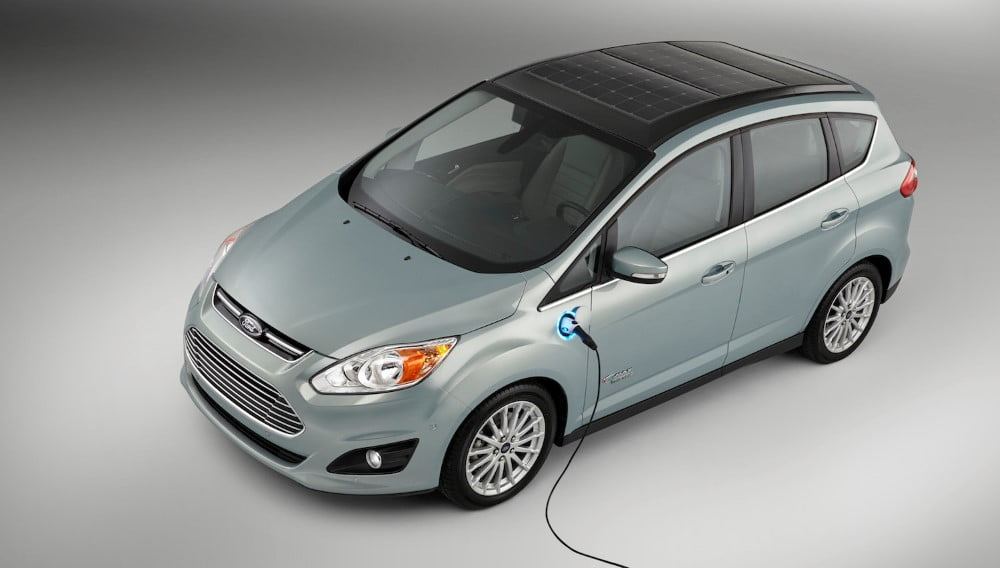 ford c max electric