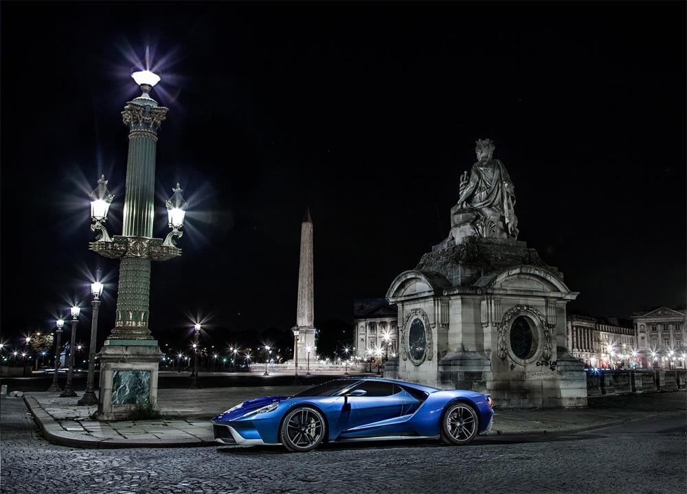 ford gt 2017 lateral