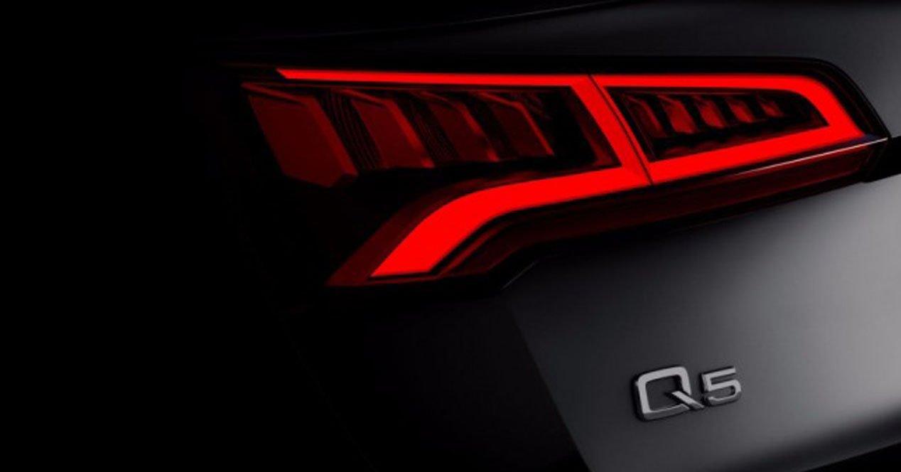 Audi Q5 2017 pilotos LED teaser