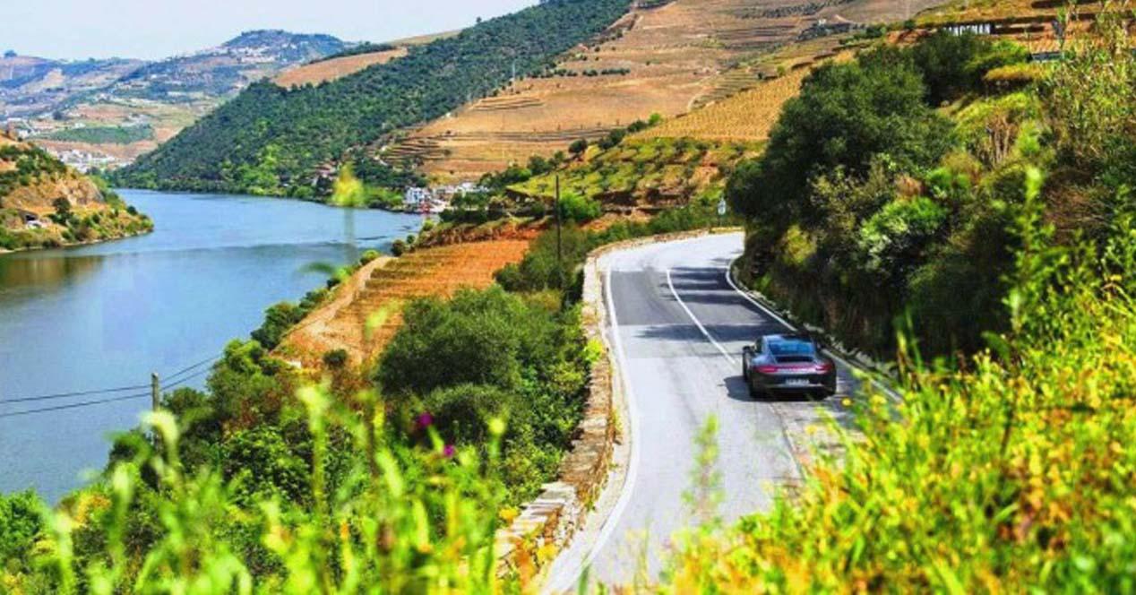 carretera n 222 en Portugal