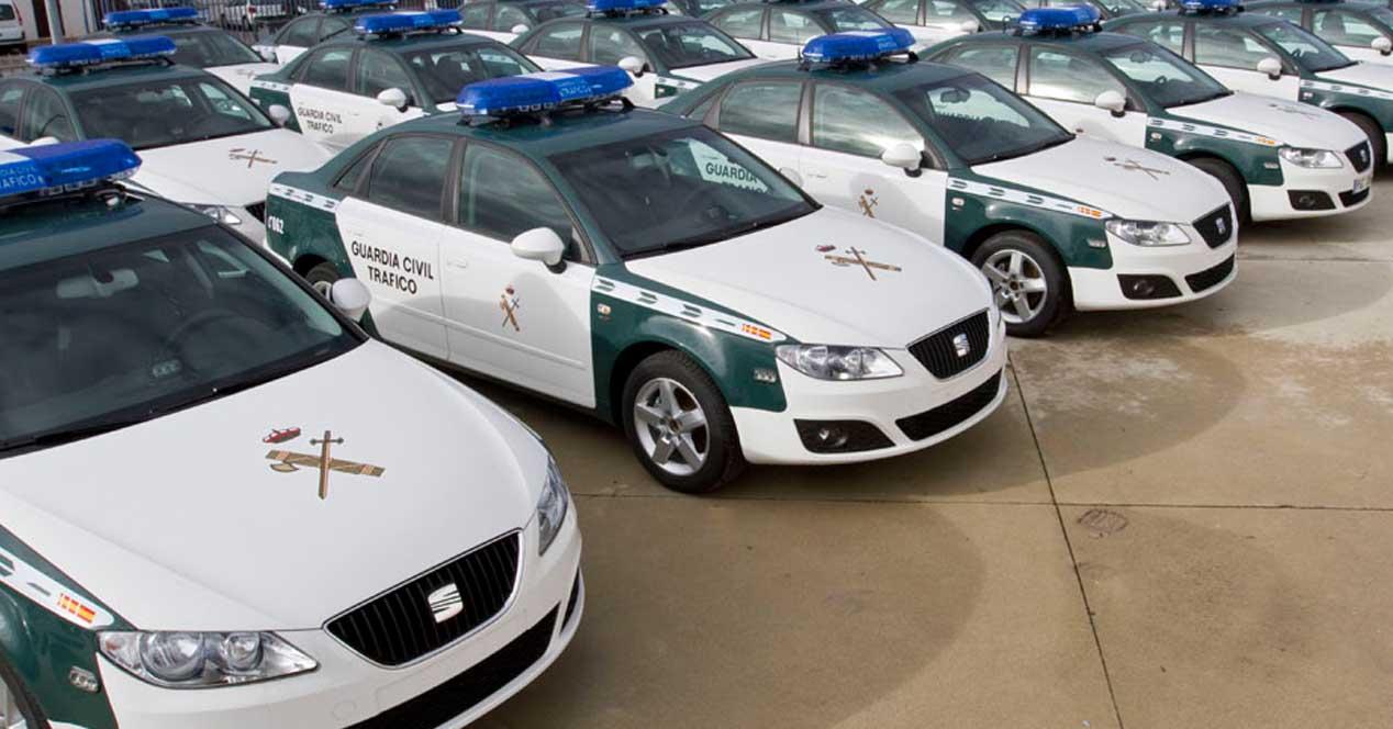 coches seat guardia civil de trafico