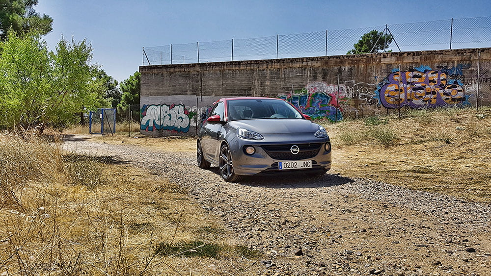 frontal opel adam s