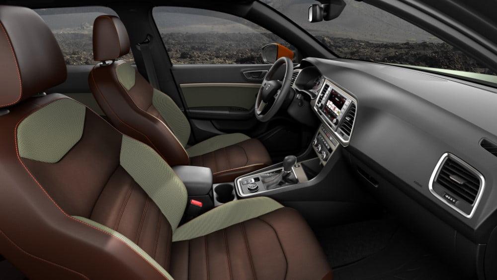 interior del seat ateca x-perience