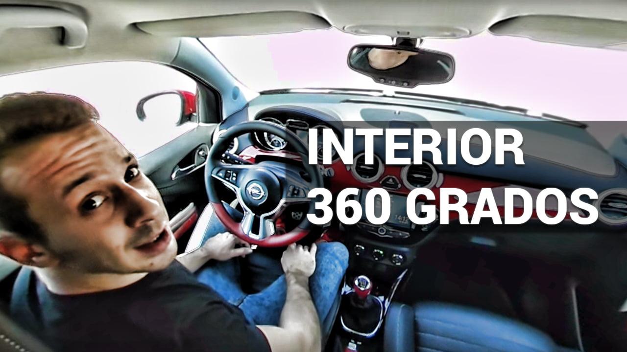 interior de coches en youtube en 360 grados