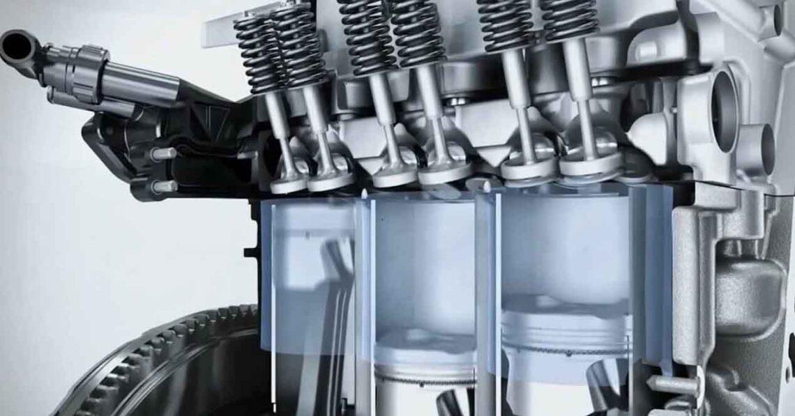 motor de tres cilindros