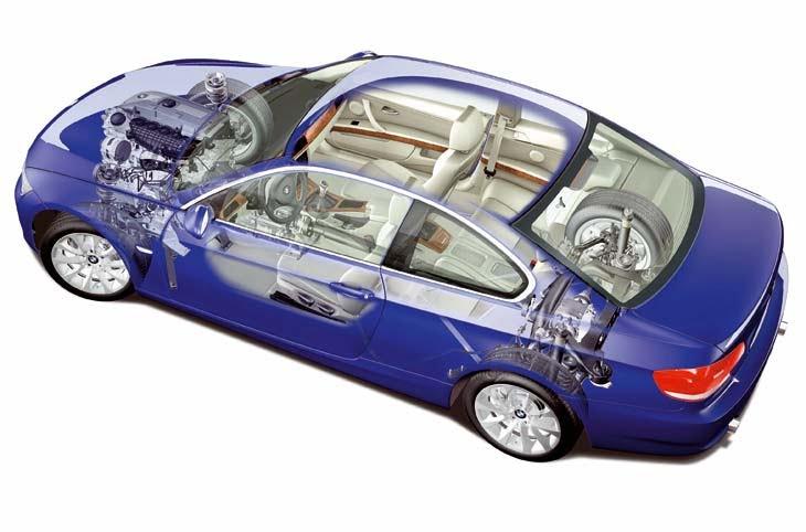 motor delantero longitudinal y traccion delantera