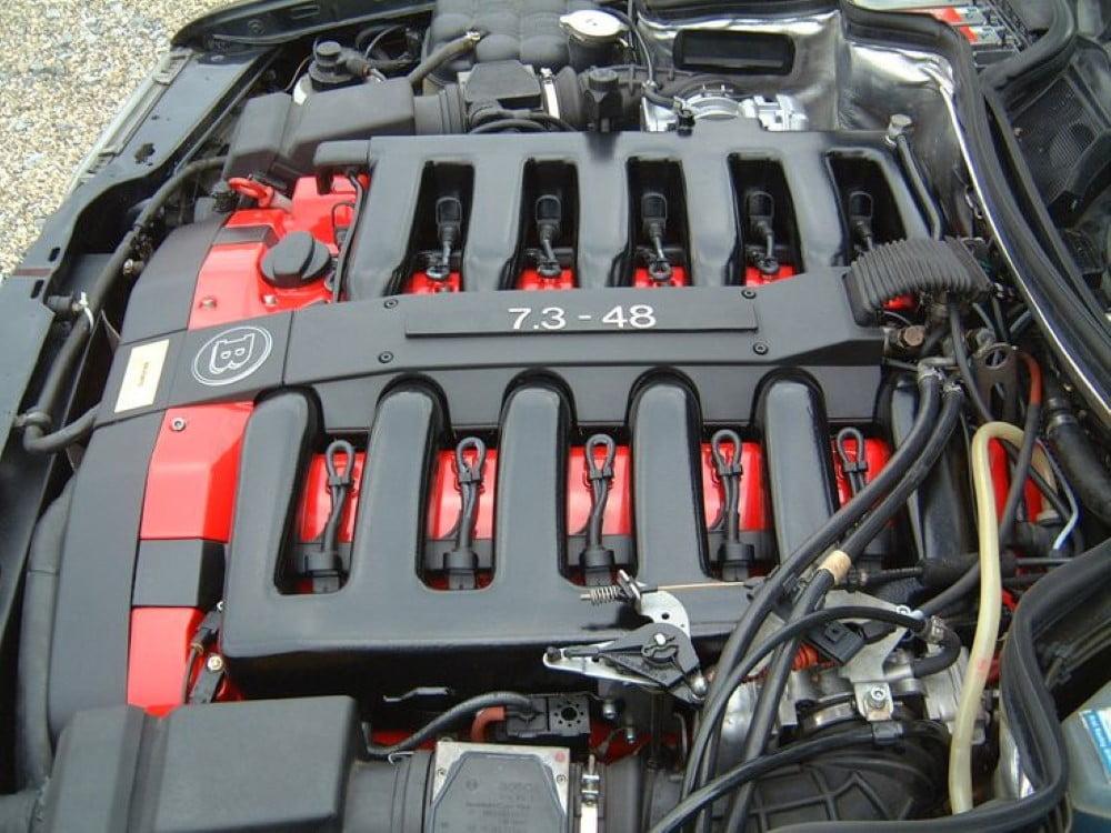 motor mercedes 500e v12 brabus