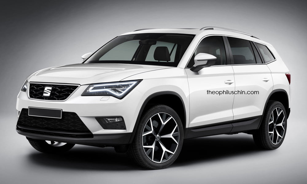 seat ateca xl frontal