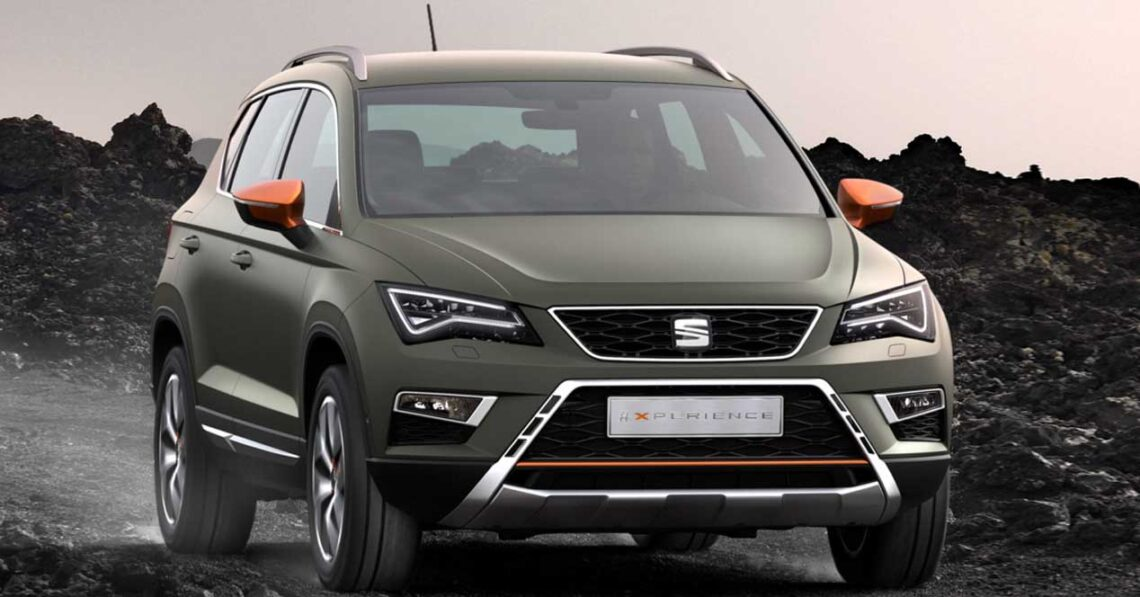 seat ateca x perience la versi n m s todoterreno con 190 cv di sel. Black Bedroom Furniture Sets. Home Design Ideas