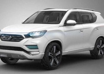ssangyong rexton 2017 concept