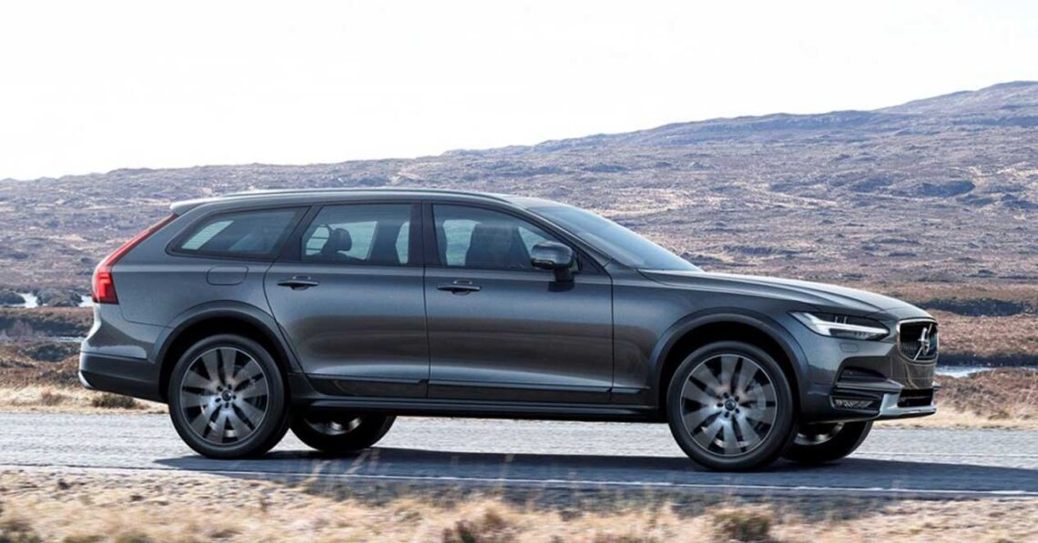volvo v90 cross country 2017 lateral
