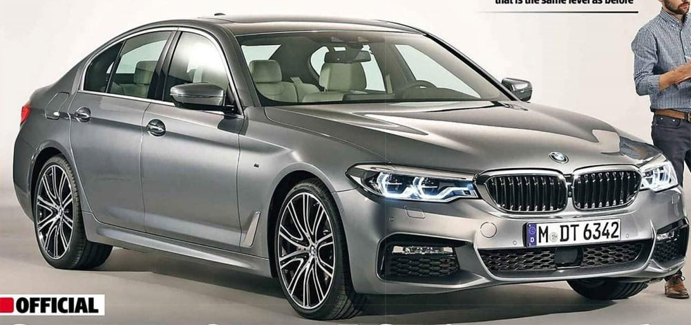 frontal del bmw serie 5 2017