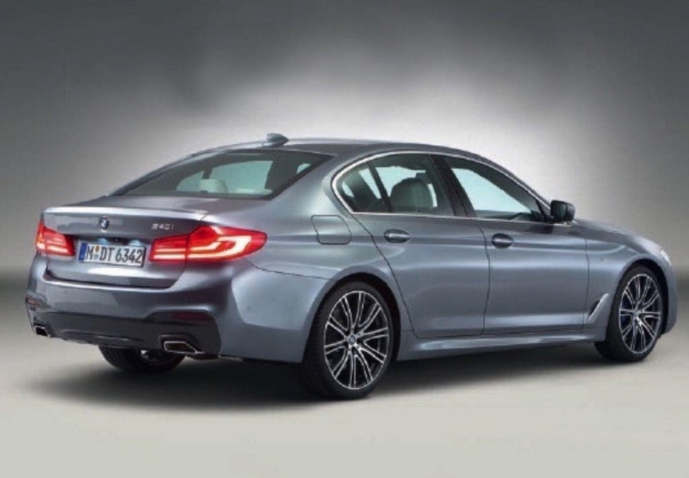 bmw serie 5 2017 trasera y lateral