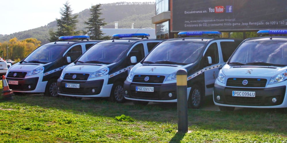 fiat scudo guardia civil