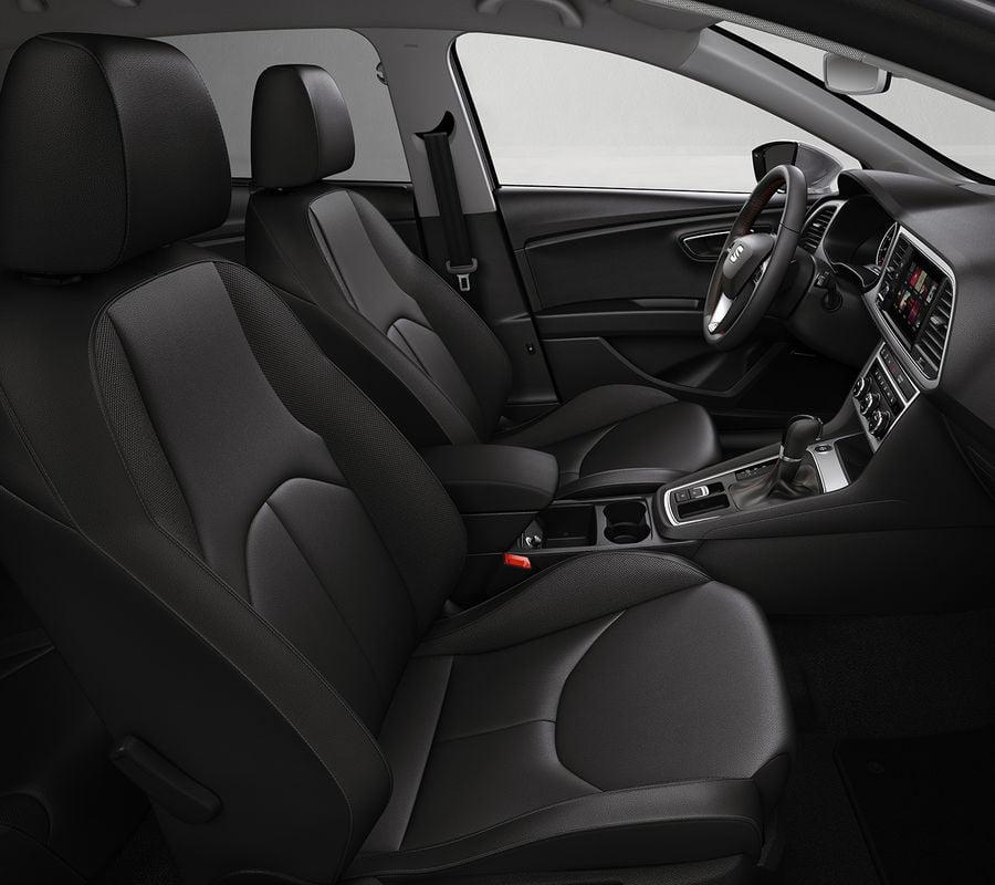 interior del seat leon xperience 2017