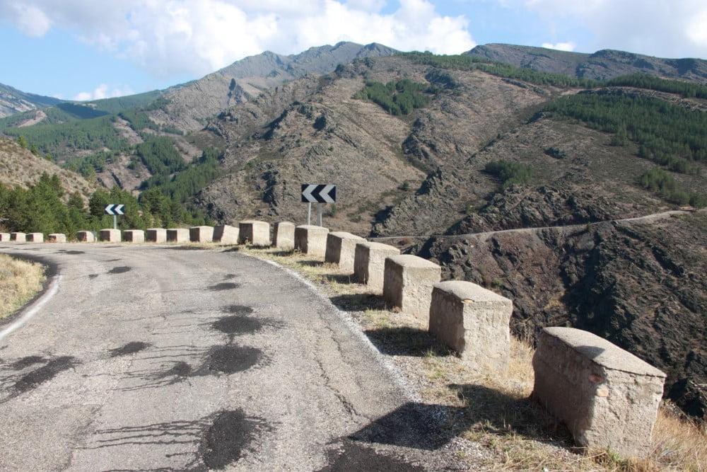 m130 carretera sierra norte madrid