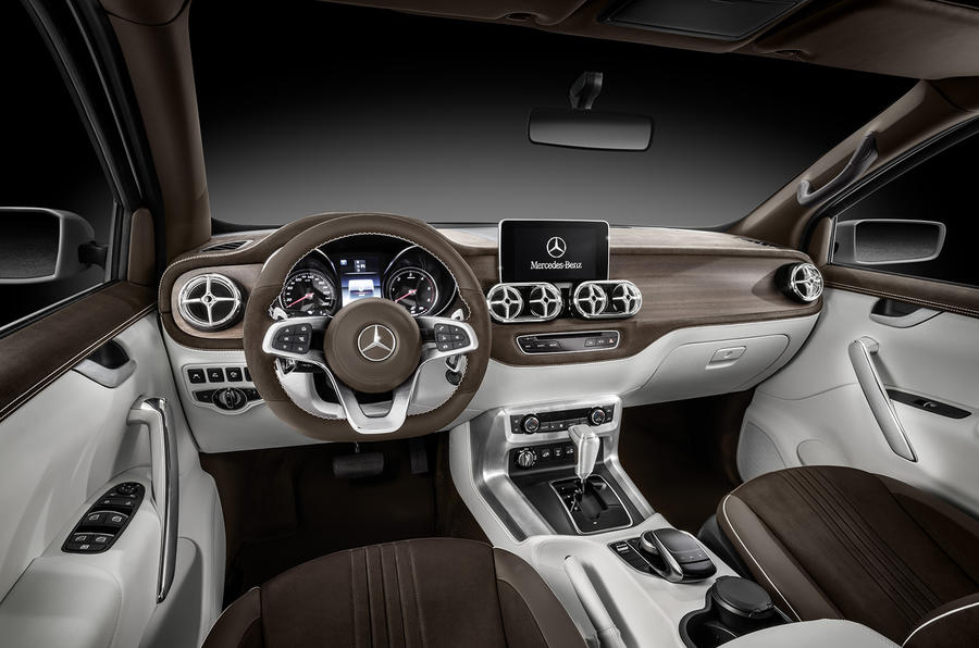 Mercedes Benz Clase X