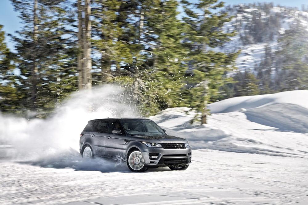 range rover 4x4 nieve