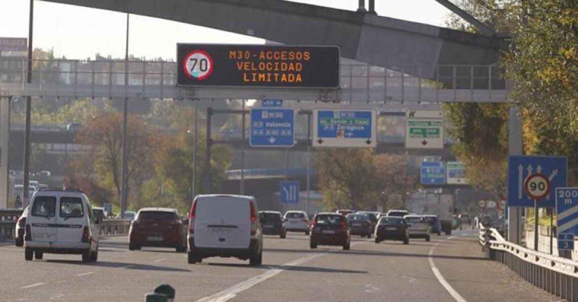 carretera M-30 Madrid