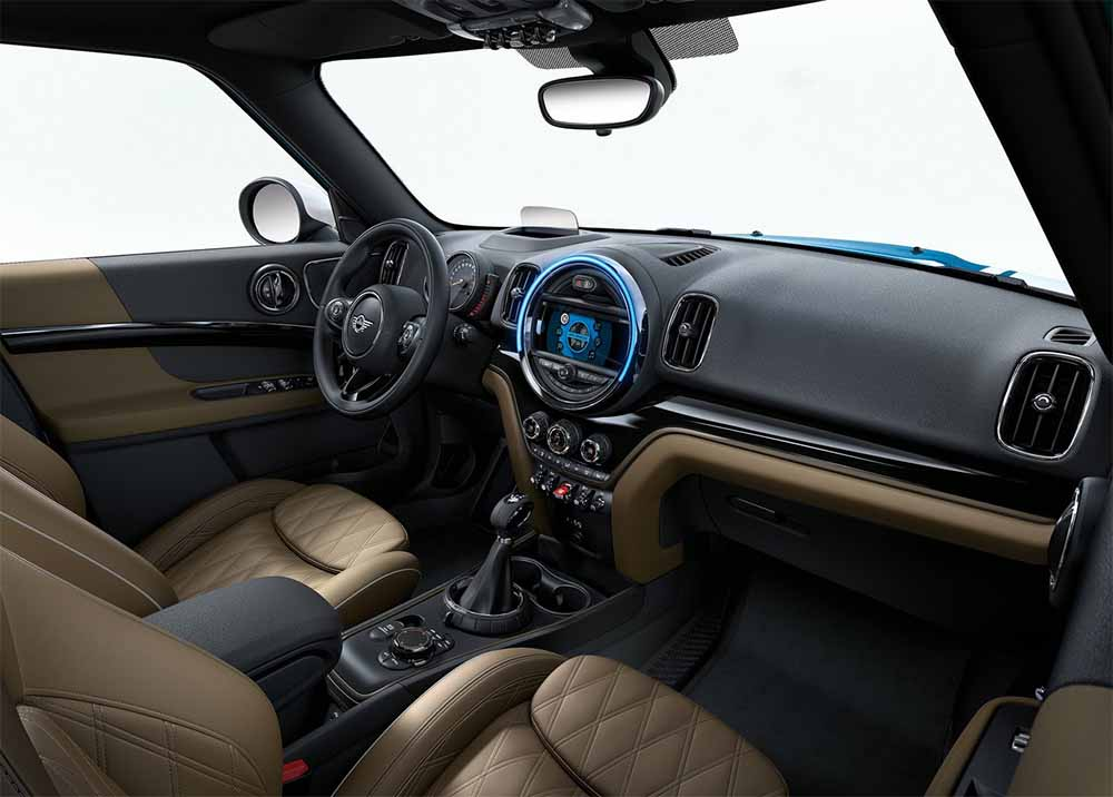 interior del mini countryman 2017