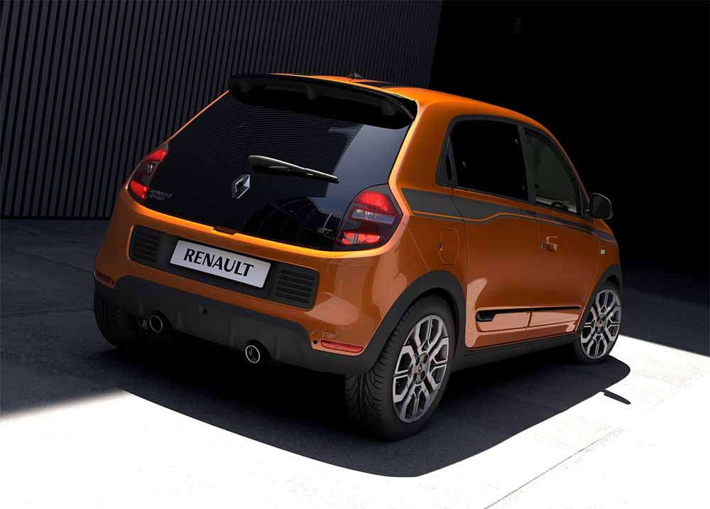 renault twingo gt 2017 trasera