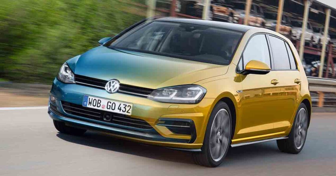 volkswagen golf comparativa 2013 2017