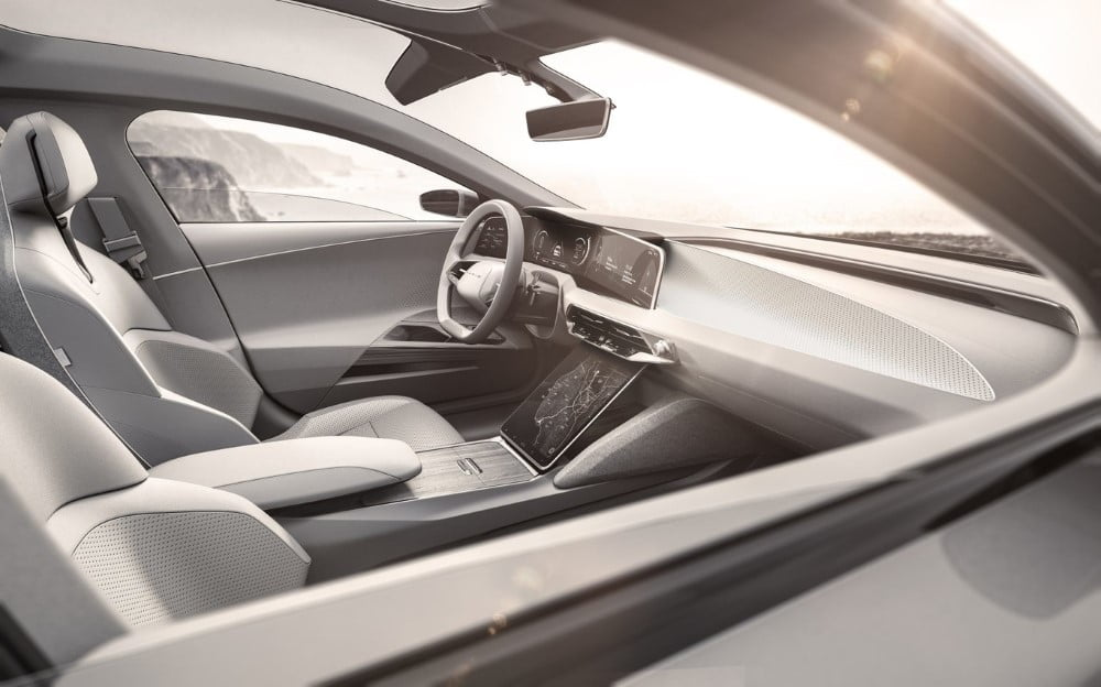 interior del lucid air concept