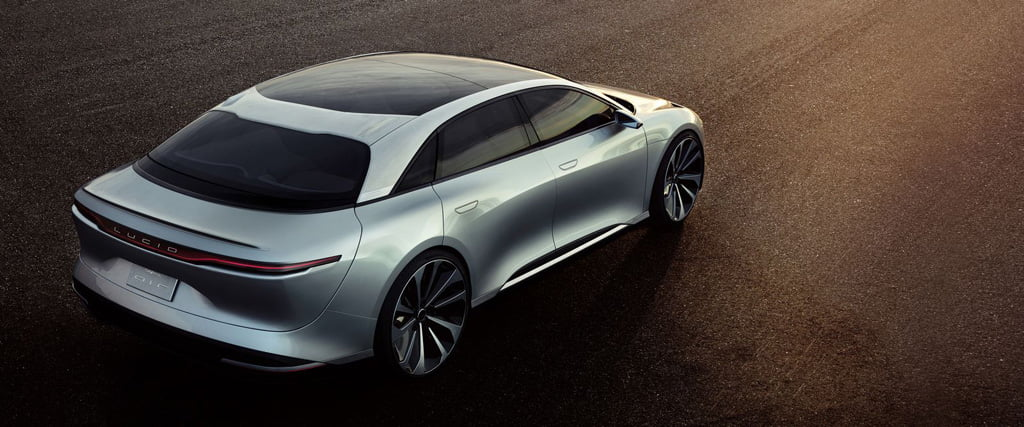 lucid air concept trasera