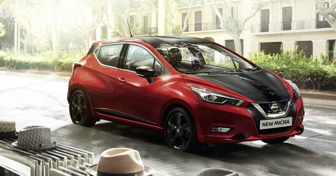 nissan micra 2017 precio versiones y motores en espa a. Black Bedroom Furniture Sets. Home Design Ideas