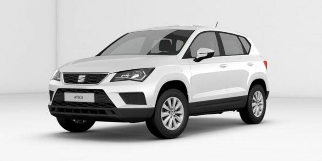 frontal del seat ateca reference