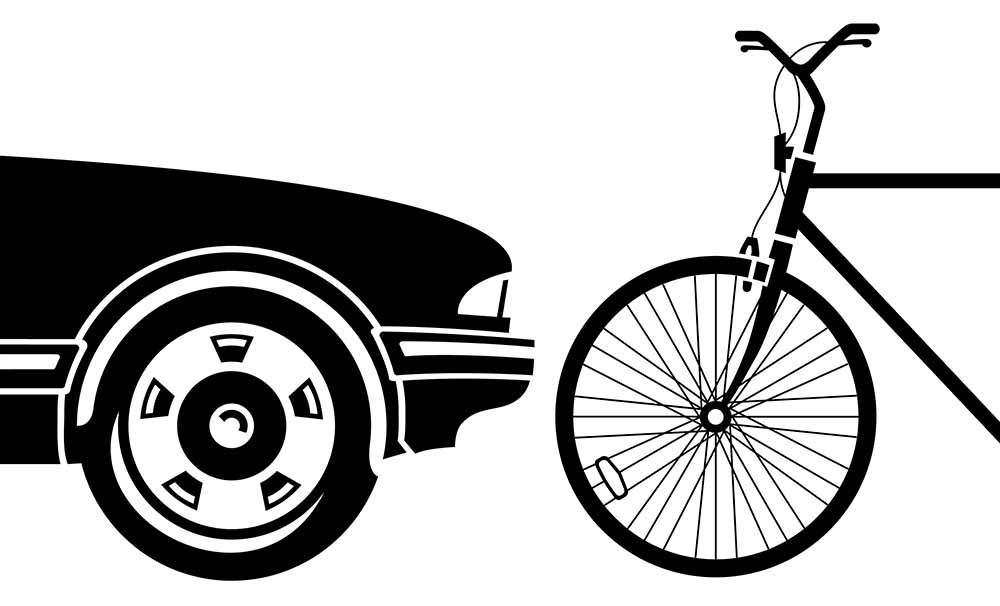 bici y coche
