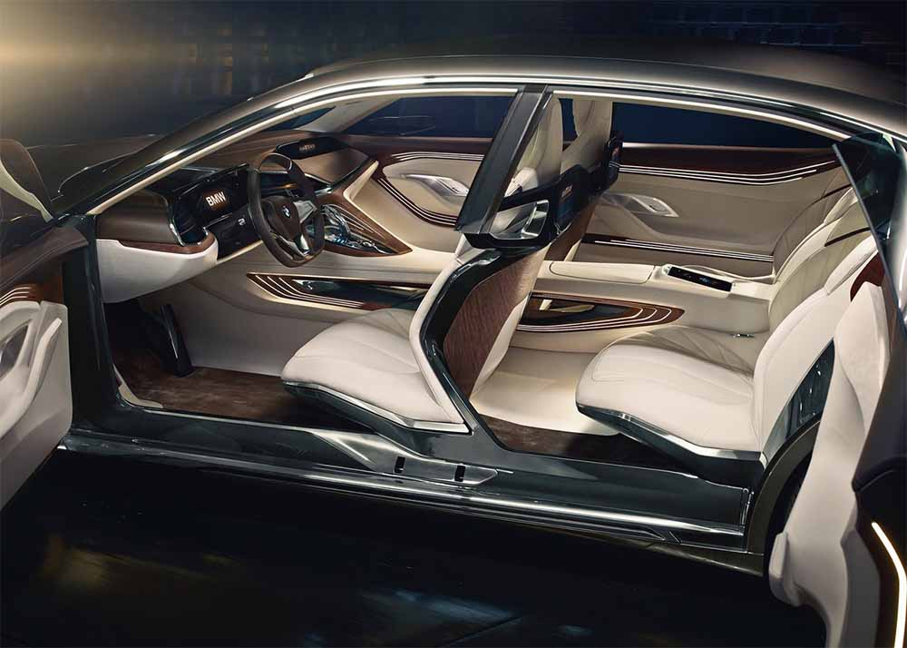 interior del bmw vision luxury future concept