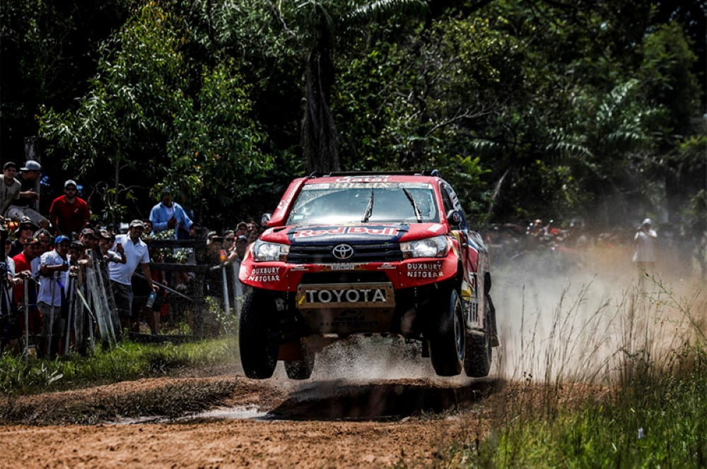 dakar 2017 toyota gazoo racing etapa 1