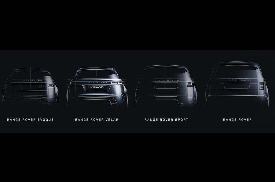 gama range rover 2017