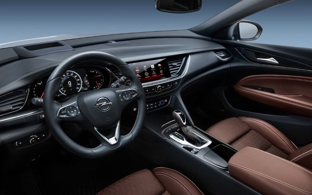 interior del opel insignia grand sports tourer