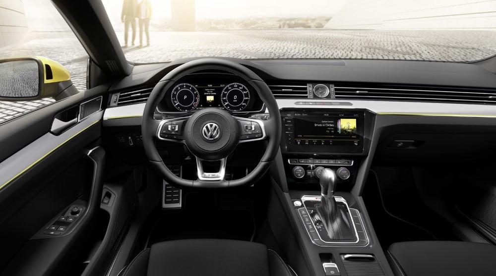 interior del volkswagen arteon
