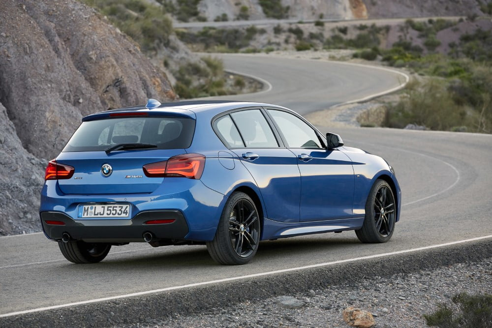 bmw serie 1 2017 restyling