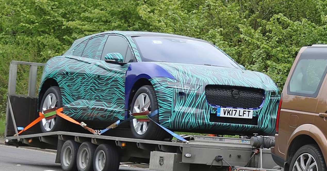 Resultado de imagen de jaguar i-pace camuflaje