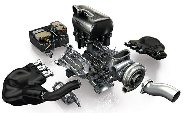 renault sport f1 motor v6 turbo