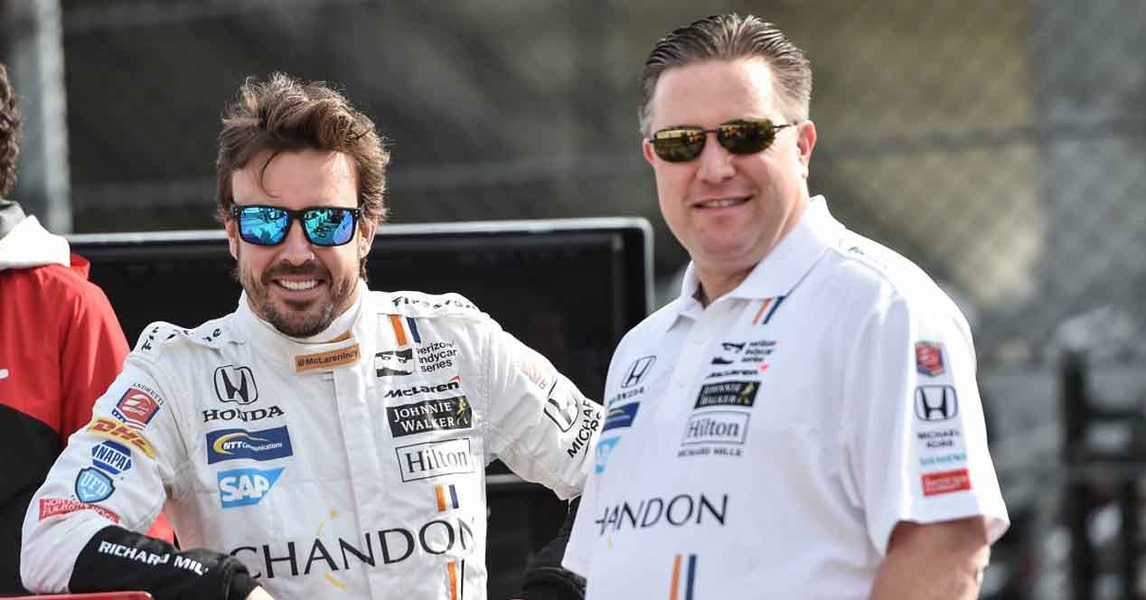 zak brown fernando alonso