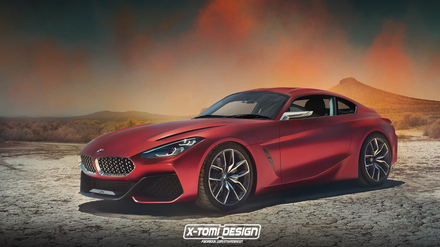 bmw z4 coupe render