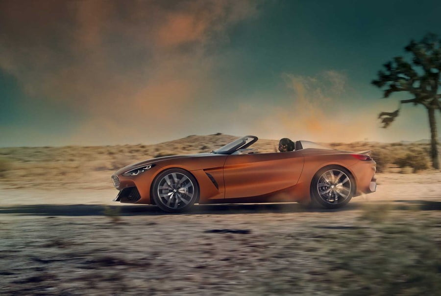 bmw z4 roadster concept