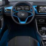 interior volkswagen t roc